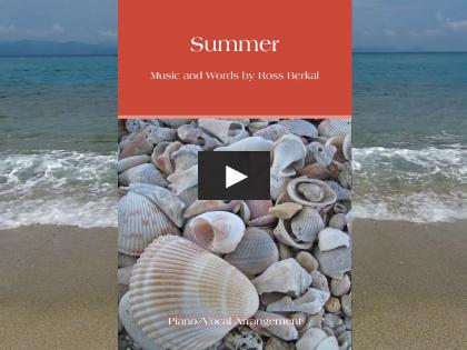 Summer Piano - Screenshot